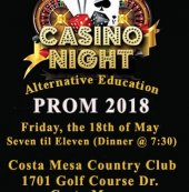 Prom tickets on sale now! $60 per ticket, which includes dinner, a picture, and souvenirs. See Mrs. Hamilton for your tickets and permission slip. See you there!