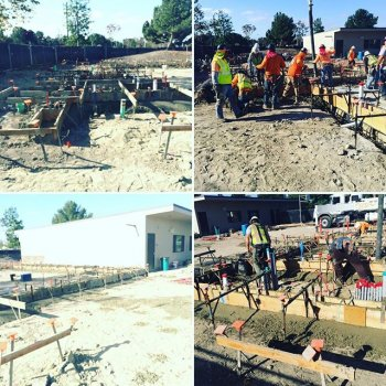 Thank you, Measure E!  We are so excited to see the progress on our new Construction Design, Medical Pathway and Media Design facilities!