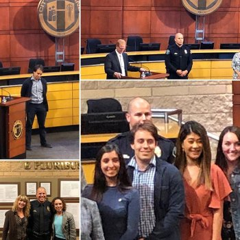 Not one, but TWO Outstanding Supporters of Prevention at the Creekside Education Center!  We are so lucky that we work with Sam Robin and Det Clay Rinker everyday!  And congratulations to all the other recipients, including Ms. Julianne Jong, also pictured).