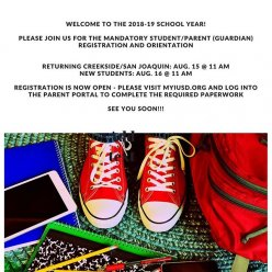 Students, we are looking forward to seeing you soon!